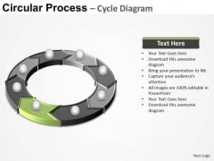 PowerPoint Design Process Circular Process Ppt Design