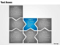 PowerPoint Design Process Linear Nonstop Ppt Slides