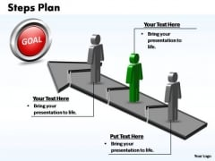 PowerPoint Design Process Steps Plan 3 Stages Style 2 Ppt Presentation