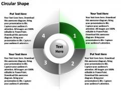 PowerPoint Design Sales Circular Ppt Process