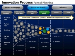 PowerPoint Design Slides Business Competition Targets Funnel Planning Ppt Process