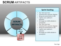 PowerPoint Design Slides Business Designs Scrum Process Ppt Process