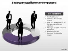 PowerPoint Design Slides Business Interconnected Factors Ppt Slide Designs