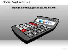 PowerPoint Design Slides Business Strategy Social Media Ppt Slide