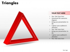 PowerPoint Design Slides Business Triangles Ppt Layout