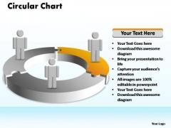PowerPoint Design Slides Chart Circular Ppt Process