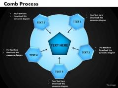 PowerPoint Design Slides Comb Process Business Ppt Presentation