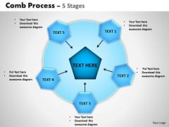 PowerPoint Design Slides Diagram Wheel And Spoke Process Ppt Backgrounds