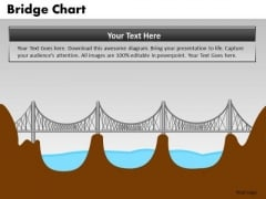 PowerPoint Design Slides Download Bridge Chart Ppt Layouts