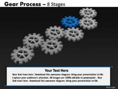 PowerPoint Design Slides Download Gears Process Ppt Design