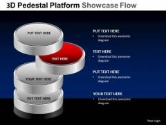 PowerPoint Design Slides Editable Pedestal Platform Showcase Ppt Themes
