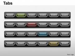 PowerPoint Design Slides Editable Tabs Ppt Designs