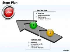 PowerPoint Design Slides Global Steps Plan 2 Stages Style 4 Ppt Themes