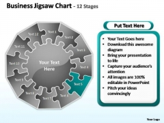 PowerPoint Design Slides Growth Jigsaw Ppt Slide
