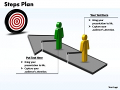 PowerPoint Design Slides Growth Steps Plan 2 Stages Style 3 Ppt Template