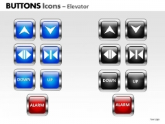 PowerPoint Design Slides Leadership Buttons Icons Ppt Backgrounds