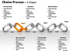 PowerPoint Design Slides Leadership Chains Process Ppt Template