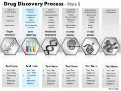 PowerPoint Design Slides Leadership Drug Discovery Ppt Layout