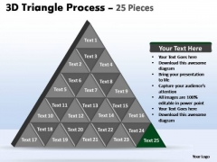 PowerPoint Design Slides Leadership Triangle Process Ppt Template