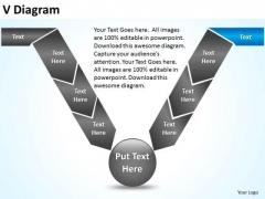 PowerPoint Design Slides Marketing V Diagram Ppt Design