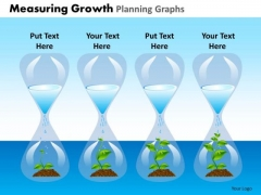 PowerPoint Design Slides Process Measuring Growth Ppt Layouts