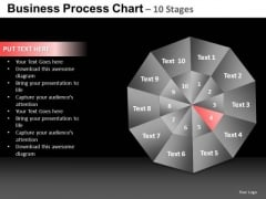 PowerPoint Design Slides Process Quadrant Diagram Chart Ppt Design