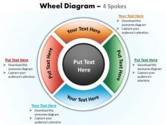 PowerPoint Design Slides Process Wheel Diagram Ppt Theme