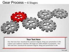 PowerPoint Design Slides Sales Gears Process Ppt Slide