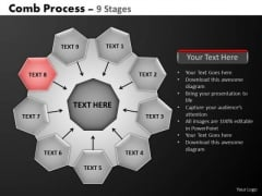 PowerPoint Design Slides Strategy Hub And Spokes Process Ppt Theme