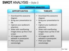 PowerPoint Design Slides Strategy Swot Analysis Ppt Design