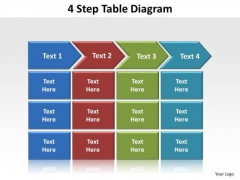 PowerPoint Design Slides Success Table Diagram Ppt Presentation