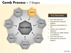 PowerPoint Design Slides Success Wheel And Spoke Process Ppt Designs