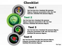 PowerPoint Design Slides Teamwork Checklist Ppt Backgrounds