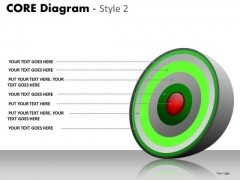 PowerPoint Design Slides Teamwork Core Diagram Ppt Layouts