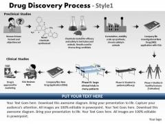 PowerPoint Design Slides Teamwork Drug Discovery Process Ppt Designs