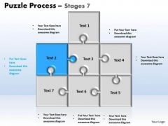 PowerPoint Design Strategy Puzzle Ppt Theme