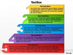PowerPoint Design Success Textbox 5 Ppt Slide