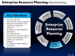 PowerPoint Design Teamwork Enterprise Resource Ppt Process