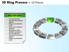PowerPoint Design Teamwork Ring Process Ppt Theme