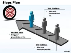 PowerPoint Design Teamwork Steps Plan 3 Stages Style 3 Ppt Theme