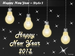 PowerPoint Designs 2013 Happy New Year Ppt Templates