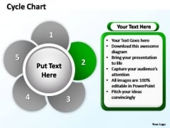 PowerPoint Designs Business Cycle Chart Ppt Slides