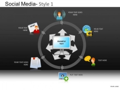 PowerPoint Designs Business Designs Social Media Ppt Slides