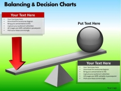 PowerPoint Designs Business Growth Balancing Decision Charts Ppt Slides