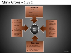 PowerPoint Designs Business Growth Shiny Arrows 2 Ppt Templates