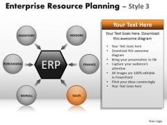 PowerPoint Designs Business Success Enterprise Resource Planning Ppt Template