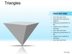 PowerPoint Designs Business Success Pyramid Triangles Ppt Presentation Designs
