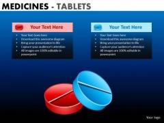 PowerPoint Designs Business Teamwork Medicine Tablets Ppt Templates