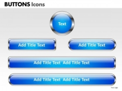 PowerPoint Designs Chart Buttons Icons Ppt Backgrounds