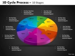 PowerPoint Designs Circle Chart Cycle Process Ppt Process